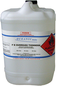 Gunwash Thinners